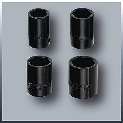 Einhell-Kfz-Schlagschrauber-CC-HS-12-12-V-fr-Zigarettenanznder-Adapter-fr-Batterie-Rechts-Linkslauf-Steckschlsselersatz-Kunststoffkoffer