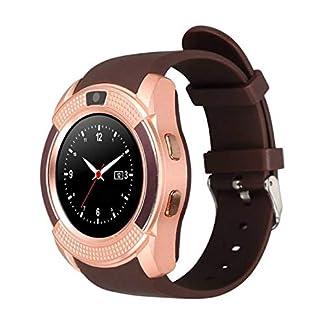 Smartwatch-Smartwatch-Android-mit-Schlitz-fr-SIM-Karte-Smartwatch-fr-Sport-Smartwatch-fr-Herren-Damen-Kinder-Fitness-Uhr
