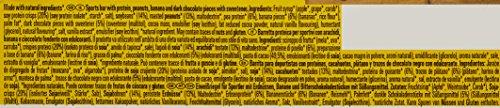 PowerBar Natural Protein Riegel aus Sojacrisps, Erbsenprotein, Erdnüssen und Sojabohnen – Eiweiß-Riegel, Fitness-Riegel, Müsli-Riegel – Vegan – 24 x 40g Banana Chocolate