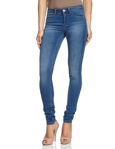 ONLY Damen Jeans 15077789/REG SOFT ULTIMATE PIM203 NOOS Skinny Slim Fit (Röhre) Normaler Bund