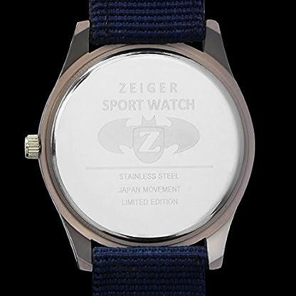 Herrenuhren-Sportich-ZEIGER-Militar-Abenteuer-Herren-Uhr-Schwarz-Sport-Analog-Quarz-Datum-Armbanduhr-Herren-Uhr-Blau-Nylon-Herren-Uhr-Grun-Militare-w283m