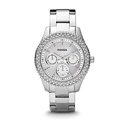 Fossil-Damen-Armbanduhr-Ladies-Dress-Analog-Quarz-ES2860