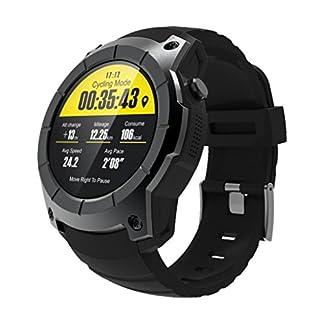 Herren-Fitness-Tracker-Smartwatch-fr-AndroidIOSVNEIRW-S958-Bluetooth-Sportuhren-Intelligente-mit-GPSLuftdruckSIM-KarteHerzfrequenz-Messgert-515416mm-Schwarz