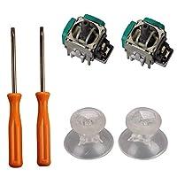 Timorn-12-Paare-24-Stck-New-Ersatz-Controller-Analog-3D-Thumbsticks-thumbstick-Joystick-Kappe-fr-XBOX-ONE