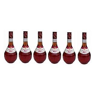 6x-Ampelicious-Imiglykos-Ros-lieblich-je-250ml-11-griechischer-Wein-in-kleinen-Flaschen-Rosewein-Imiglikos-halbs-Probiersachet-10ml-Olivenl