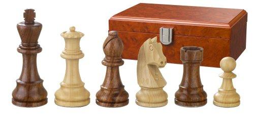 Philos-2186-Schachfiguren-Artus-Knigshhe-78-mm-doppelt-gewichtet-in-Figurenbox