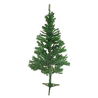 Gartenfreude-Bume-Tannenbaum-180-cm-600-Zweige-auf-Kunststoffsockel-grn