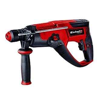 Einhell-Bohrhammer-TE-RH-28-5F-950W-Schlagzahl-4500Min-3-J-Schlagstrke-Dauerlaufarretierung-pneumatisches-Schlagwerk-SDS-plus-Drehzahl-Elektronik-Metall-Bohrtiefenanschlag-inkl-E-Box