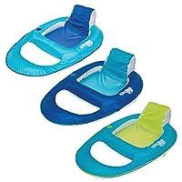 SwimWays-6045228-Spring-Float-Recliner-Wasserliegestuhl-farblich-sortiert