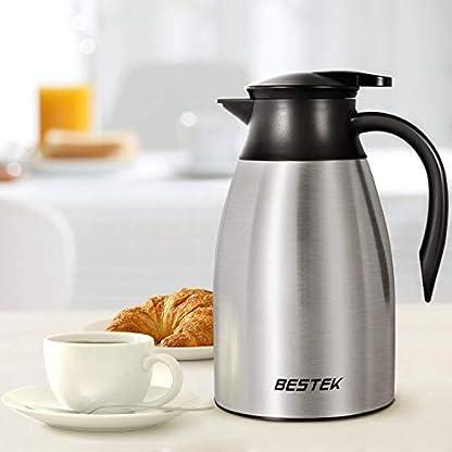 Isolierkanne-15-Liter-Kaffeekanne-Edelstahl-Thermoskanne-Quick-Tip-Verschluss-Soft-Grip-100-dicht