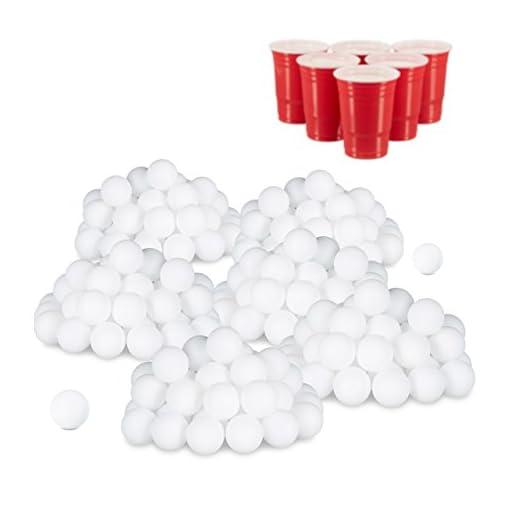 relaxdays-288er-Set-Beer-Pong-Blle-ohne-Aufdruck-Kunststoff-ohne-Naht-Trinkspiel-Tischtennisblle-38-mm-wei