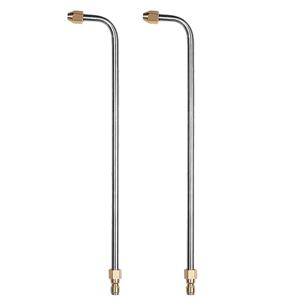 Homyl-Hochdruckreiniger-Lanzensprhstab-Abgewinkelte-Lanzenverlngerung-3600psi-90-Grad