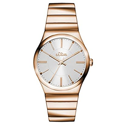 sOliver-Damen-Armbanduhr-Analog-Quarz-bicolor-SO-15040-MQR