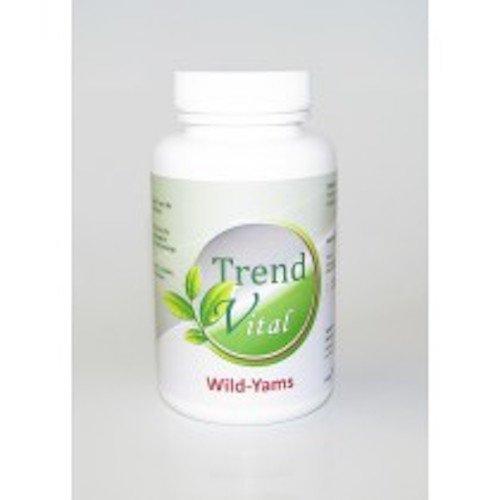 Wild-Yams (90 Kapseln) – DHEA Komplex -Diosgenin 20 mg