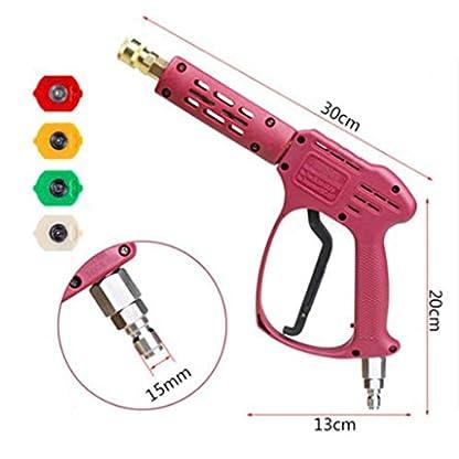 Tubayia-Hochdruckreiniger-Hochdruck-Wasserpistole-Spriztpistole-Werkzeug-fr-Autowsche