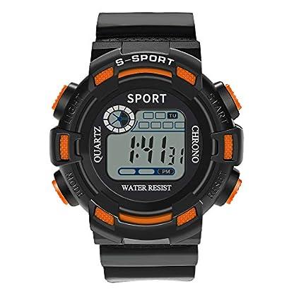 Godagoda-Herren-Armbanduhr-Digitale-Wasserdichte-Sportuhr-Schwimmuhr-Lederarmbandmit-Unisex-Outdoor-Alarmfunktion-als-Geschenk-fr-Kinder-Mnner