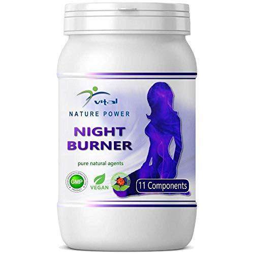 Natural Burner Kapseln – wahlweise Day Burner mit 21 Wirkstoffen, NIGHT Burner mit 11 Wirkstoffen oder Kombi Paket mit Diätplan