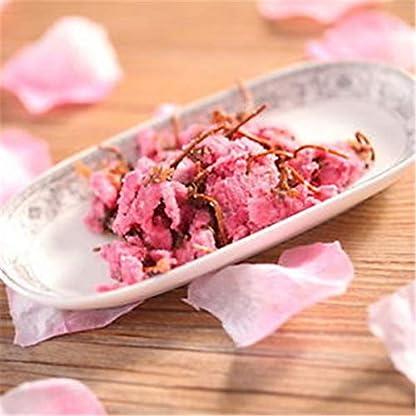 Chinesischer-Krutertee-Gesalzener-Sakura-Tee-Rosa-Kirschblten-Neuer-Dufttee-Gesundheitspflege-Blumentee-Hochwertige-gesunde-grne-Nahrung