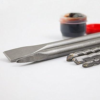 BITUXX-Bohrhammer-Schlagbohrer-1800W-Schlagbohrmaschine-Abbruchhammer-Meielhammer-SDS-Plus-6-Joule-1800W-4100Smin-2x-Meiel