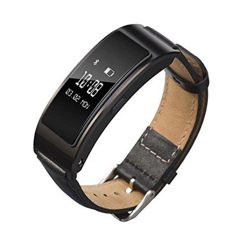 Armbnder-fr-Huawei-Talkband-B3-VNEIRW-Leder-Ersatzarmbnder-Ersatz-Uhrenarmband-Uhrarmbnder-fr-Fitness-Tracker-Smartwatches-Aktivittstracker