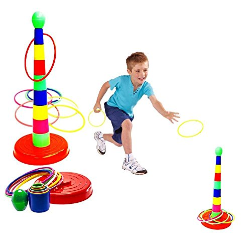 Toy-Cubby-Kunststoff-18-Turm-und-Ringwurfspiel-1-Satz