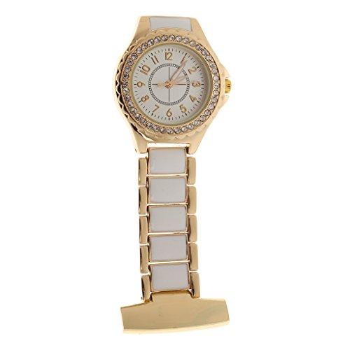 Quarz Schwesternuhr Taschenuhr Pulsuhr Brosche Uhr Krankenschwester Uhren