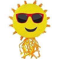 Folat-Topfschlagen-aus-Amerika-Pinata-Sonne-Wird-mit-Sssigkeiten-oder-Spielen-gefllt-ca12-x-54-cm-Piata-Mexiko-Kinder-Geburtstag-Kindergeburtstag-Spiele