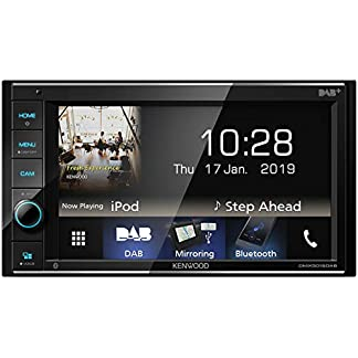 Kenwood-DMX5019DAB-157-cm-WVGA-Digital-Media-Receiver-mit-DAB-Android-USB-Mirroring-Bluetooth-und-Dual-USB