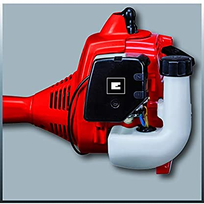 Einhell-Benzin-Sense-GC-BC-30-AS-09-kW-303-ccm-04-l-Tank-Easy-Start-Doppelfadenspule-3-Zahn-Messer-Tragegurt-Quick-Start-Funktion-Split-Schaft