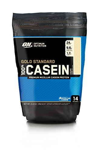 Optimum Nutrition 100% Casein Gold Standard Protein Vanilla, 1er Pack (1 x 450 g)