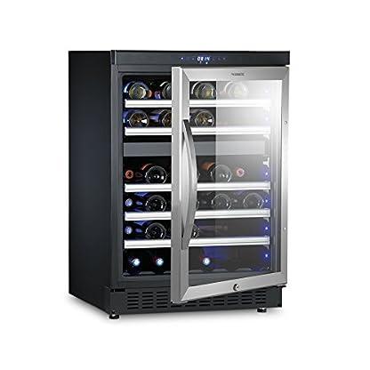 Dometic MaCave D50, 2 Zonen Wein Kühlschrank Für 46 Flaschen,  Weintemperierschrank +5 °C Bis +22 °C, Wein Klimaschrank,  Edelstahl UV Glastür   Alles über ...