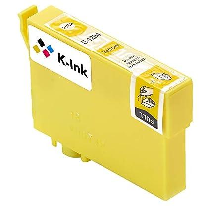 K-Tinte-kompatible-Tintenpatronen-fr-Epson-T-1291-T-1292-T-1293-T-1294-10er-Packung-4-Black-2-Cyan-2-Magenta-2-Gelb
