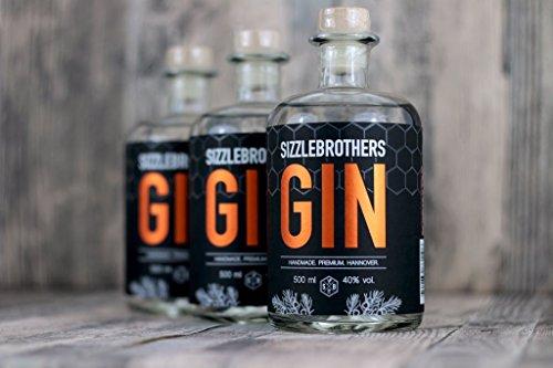 SizzleBrothers-Gin-40-vol-05-Liter-Handmade-Premium