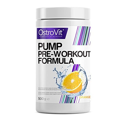 OstroVit PUMP Pre-Workout Orange, 1er Pack (1 x 500 g)