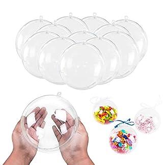 5Pcs-Transparente-Kugeln-Zum-Befllen-Acrylkugeln-7cm-Durchmesser-Durchsichtige-Kugel-Aufhngen-Weihnachten-Crafts-Shells-Formkugeln-Bastelset