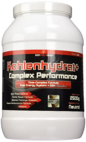 BWG Kohlenhydrat + Complex Performance (Maltodextrin, Dextrose & Vitaminmischung), Muscle Line, 2500 g, 1er Pack (1 x 2.5 kg)
