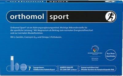 Orthomol Sport Trinkfläschchen, 7 Stück