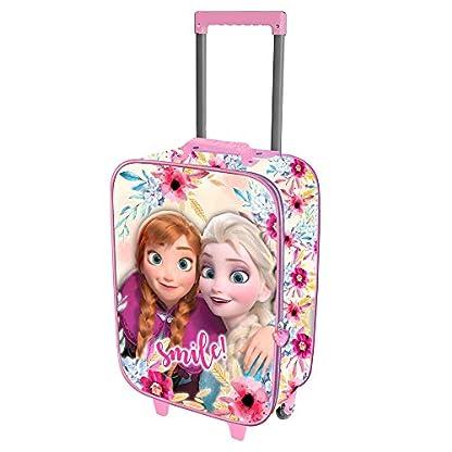Karactermania-Frozen-Smile-Valigia-Trolley-Soft-3D-Kindergepck-52-Centimeters-23-Mehrfarbig-Multicolour