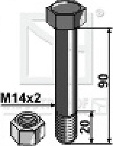 Schraube-mit-Mutter-M14-x-2-x-90-mm-fr-Mthing-Mulcher