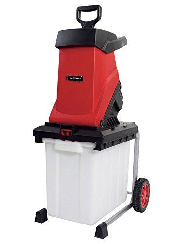 Matrix-Gartenhchsler-elektro-2500-Watt-mit-50-Liter-Fangkorb-automatischer-Vorschub-Sicherheitsschalter