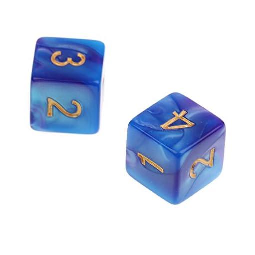 MagiDeal-10-Stck-D6-16mm-sechsseitig-Acryl-Dice-Doppel-Farben-Wrfel-Wrfelspiele-fr-Party-Brettspiel-Kartenspiel-Lehre-Mathe-RPG-Spiel