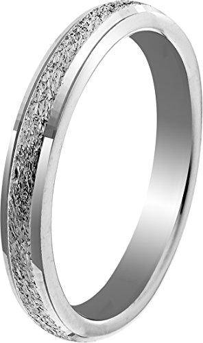 Orphelia Unisex -Einfache Hochzeits-Band 925-Sterling Silber Ringgröße 52 (16.6) OR9994/52