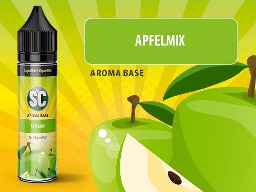 SC Vape Base – Apfelmix, 50 ml