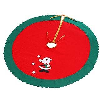 Vosarea-Weihnachtsbaum-Rock-Weihnachtsmann-Baum-Rock-Weihnachtsbaum-Standmatte-Weihnachtsfeiertag-Party-Dekoration-87cm