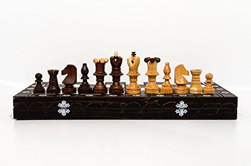Atemberaubende-Kirsche-Botschafter-54x54cm-dekorative-Holz-Schachspiel