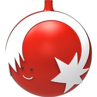 Alessi-Stella-Cometa-4-Stck-Weihnachtsbaumkugel-aus-mundgeblasenem-Glas-Handdekoriert