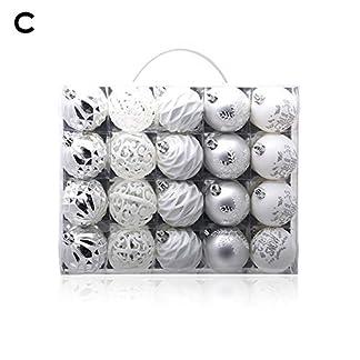 Millster-Weihnachtskugeln-Set-Weihnachtskugeln-Kunststoff20-STCKE-Bruchsicher-Weihnachtsbaum-Anhnger-Groe-Hngende-Kugel-Ornamente-6-cm