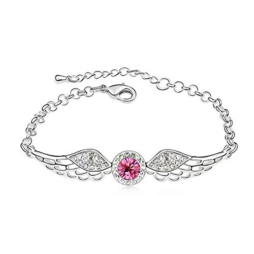 Schnatz Armband Damen Schmuck Silber Halskette mit Damen und Kinder Anhänger Geschenke