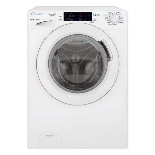 Candy-gvs44138-freistehend-Frontlader-8-kg-1300-Umin-Energie-A-Waschmaschine-wei