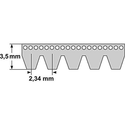 Keilrippenriemen-6-PJ-1651-mm-650-J